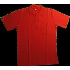 Yazlık Polo Yaka Kırmızı T-Shirt İş Elbisesi