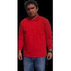 Polo Yaka Kışlık Sweatshirt