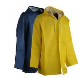 Ceket Tipi Extra Astarlı Fermuarlı Yağmurluk