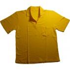 Yazlık Polo Yaka Sarı T-Shirt İş Elbisesi
